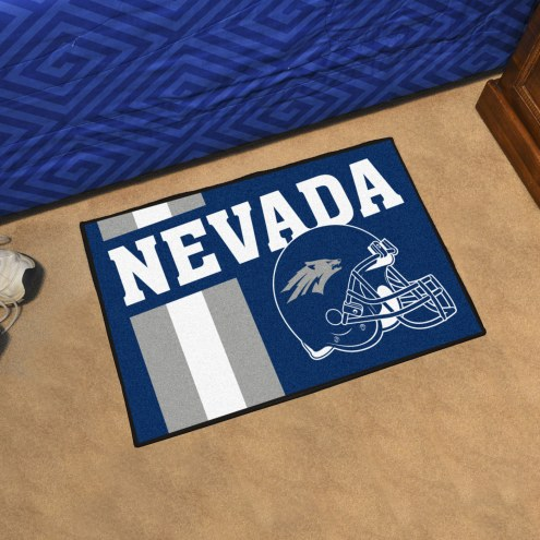 Nevada Wolf Pack NCAA Starter Rug