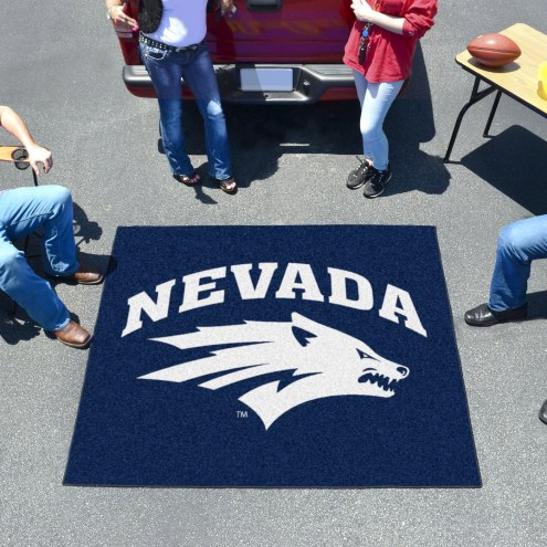 Nevada Wolf Pack Tailgate Mat