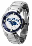 Nevada Wolf Pack Titan Steel Men's Watch