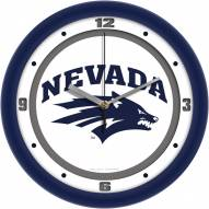 Nevada Wolf Pack Traditional Wall Clock