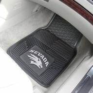 Nevada Wolf Pack Vinyl 2-Piece Car Floor Mats