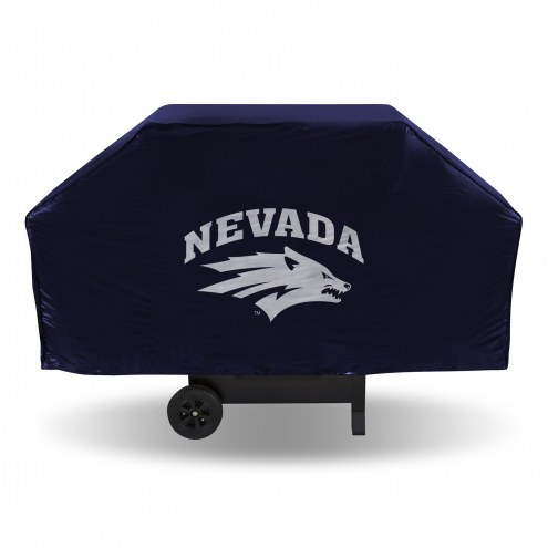 Nevada Wolf Pack Vinyl Grill Cover