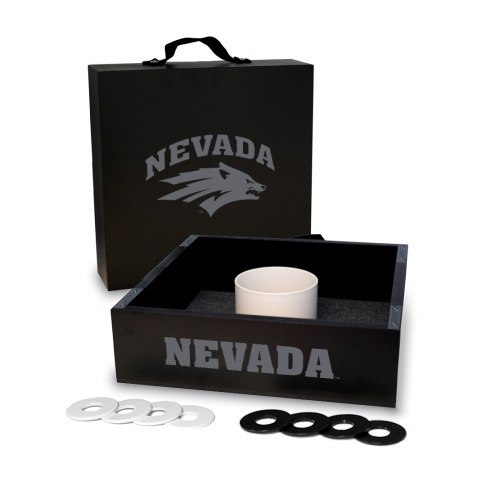 Nevada Wolf Pack Washer Toss Game Set