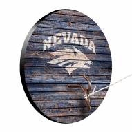 Nevada Wolf Pack Weathered Design Hook & Ring Game