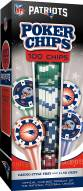 New England Patriots 100 Poker Chips