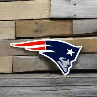 "New England Patriots 12"" Steel Logo Sign"