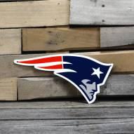 "New England Patriots 12"" Steel Logo Sign"