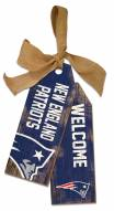 "New England Patriots 12"" Team Tags"