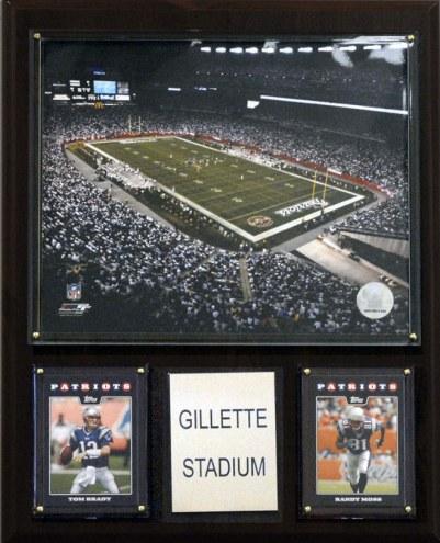 "New England Patriots 12"" x 15"" Stadium Plaque"