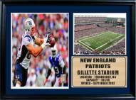"New England Patriots 12"" x 18"" Rob Gronkowski Photo Stat Frame"
