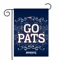 "New England Patriots 13"" x 18"" Garden Flag"