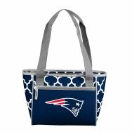 New England Patriots 16 Can Cooler Tote