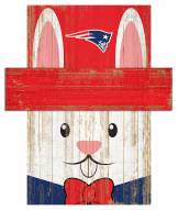 "New England Patriots 19"" x 16"" Easter Bunny Head"