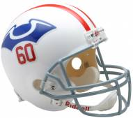 New England Patriots 1960 Riddell VSR4 Collectible Full Size Football Helmet
