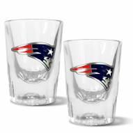 New England Patriots 2 oz. Prism Shot Glass Set