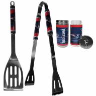 New England Patriots 2 Piece BBQ Set with Tailgate Salt & Pepper Shakers