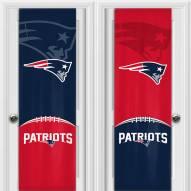 New England Patriots 2 Sided Door Wrap