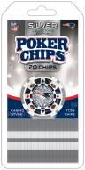 New England Patriots 20 Piece Poker Chips Set