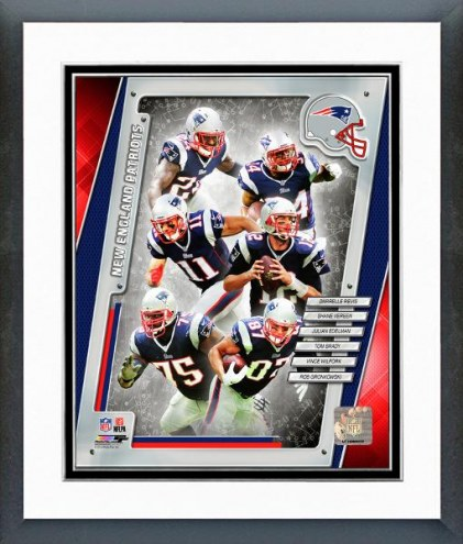 New England Patriots Team Composite Framed Photo