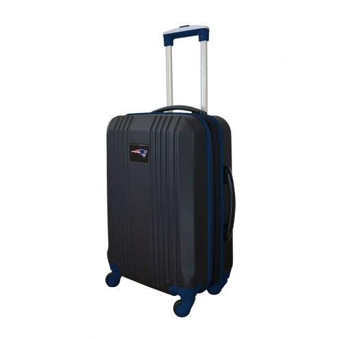 """New England Patriots 21"""" Hardcase Luggage Carry-on Spinner"""