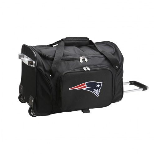 "New England Patriots 22"" Rolling Duffle Bag"