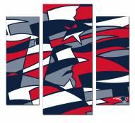 New England Patriots 3 Piece Wall Art
