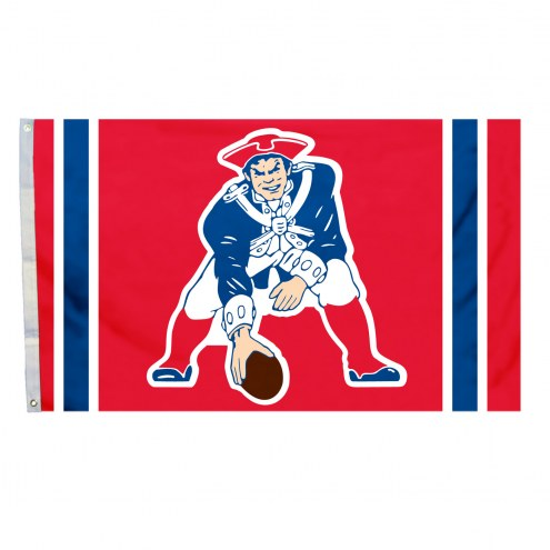 New England Patriots 3' x 5' Throwback Flag