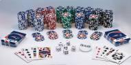 New England Patriots 300 Piece Poker Set