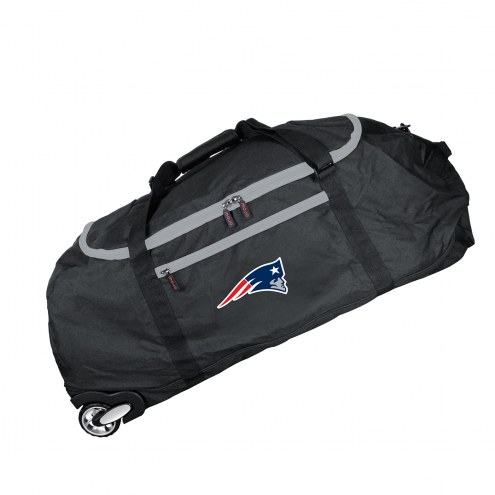 """New England Patriots 36"""" Checked-in Wheeled Duffel"""