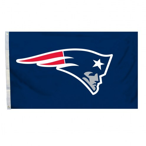 New England Patriots 4' x 6' Logo Flag