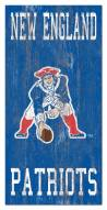 "New England Patriots 6"" x 12"" Heritage Logo Sign"