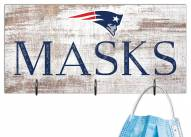"New England Patriots 6"" x 12"" Mask Holder"