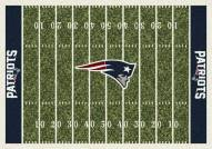 New England Patriots 6' x 8' NFL Home Field Area Rug