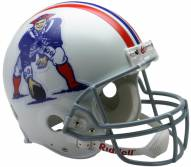 New England Patriots 65-81 Riddell VSR4 Authentic Full Size Football Helmet