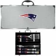 New England Patriots 8 Piece Tailgater BBQ Set