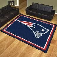 New England Patriots 8' x 10' Area Rug