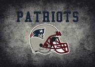 New England Patriots 8' x 11' NFL Distressed Area Rug