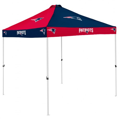 New England Patriots 9' x 9' Checkerboard Tailgate Canopy Tent