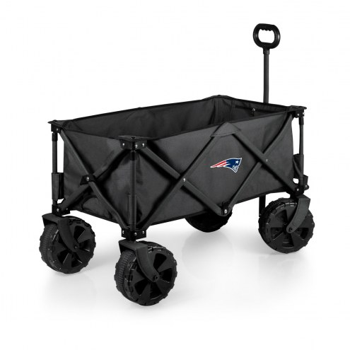 New England Patriots Adventure Wagon with All-Terrain Wheels