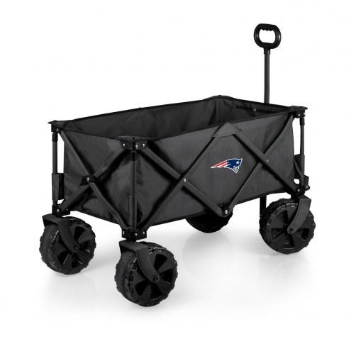 New England Patriots Adventure Wagon with All-Terrain Wheels