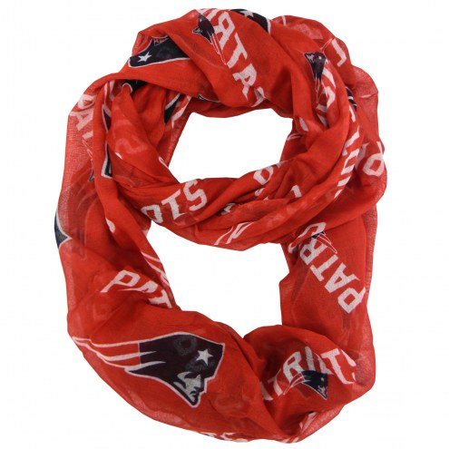 New England Patriots Alternate Sheer Infinity Scarf