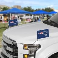 New England Patriots Ambassador Car Flags