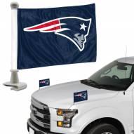 New England Patriots Ambassador Hood & Trunk Car Flag