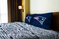 New England Patriots Anthem Full Bed Sheets