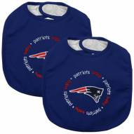 New England Patriots Baby Bib - 2 Pack