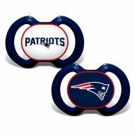 New England Patriots Baby Pacifier 2-Pack