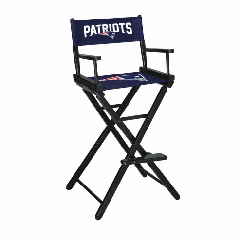 New England Patriots Bar Height Director's Chair