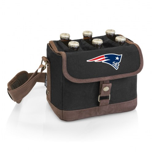 New England Patriots Beer Caddy Cooler Tote with Opener