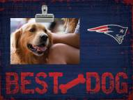 New England Patriots Best Dog Clip Frame