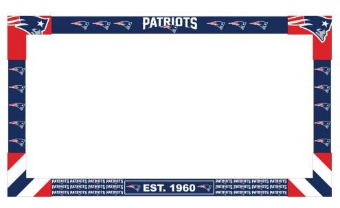 New England Patriots Big Game Monitor Frame